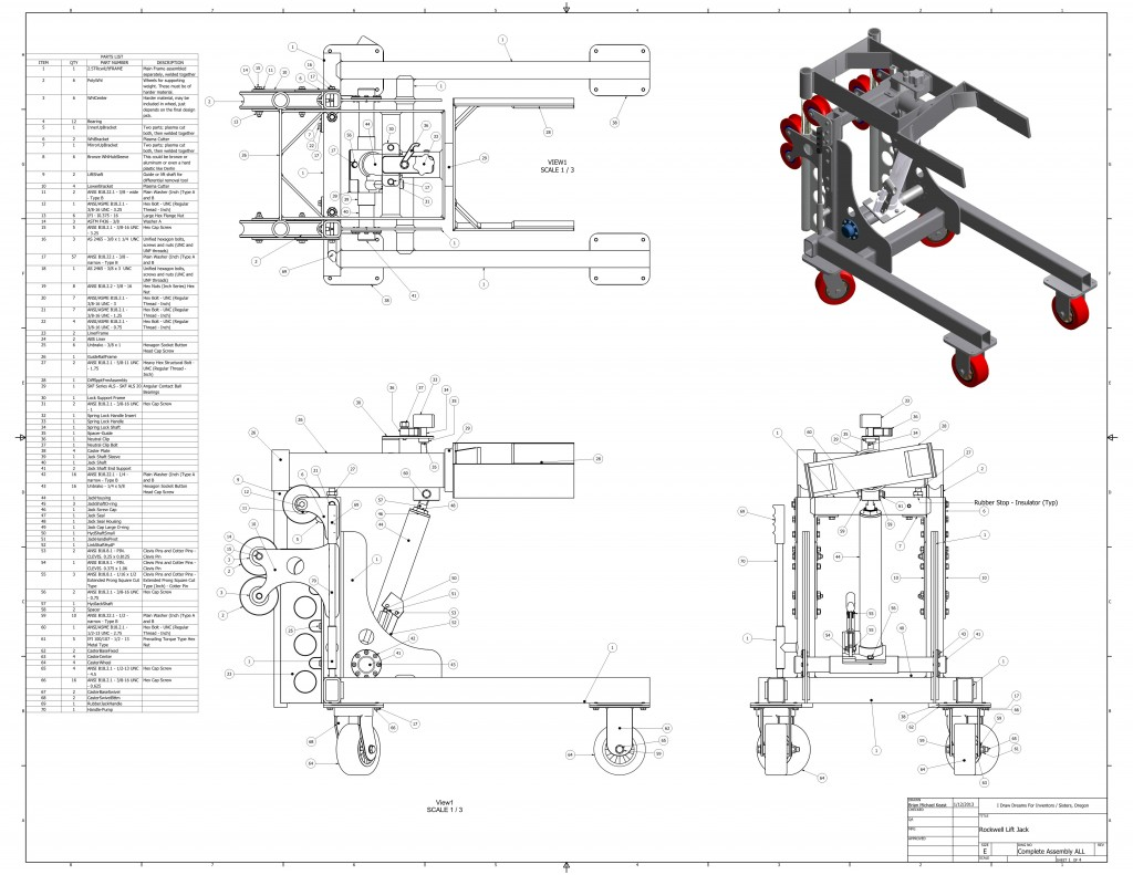 Technical Drawings   I Draw Dreams For Inventors