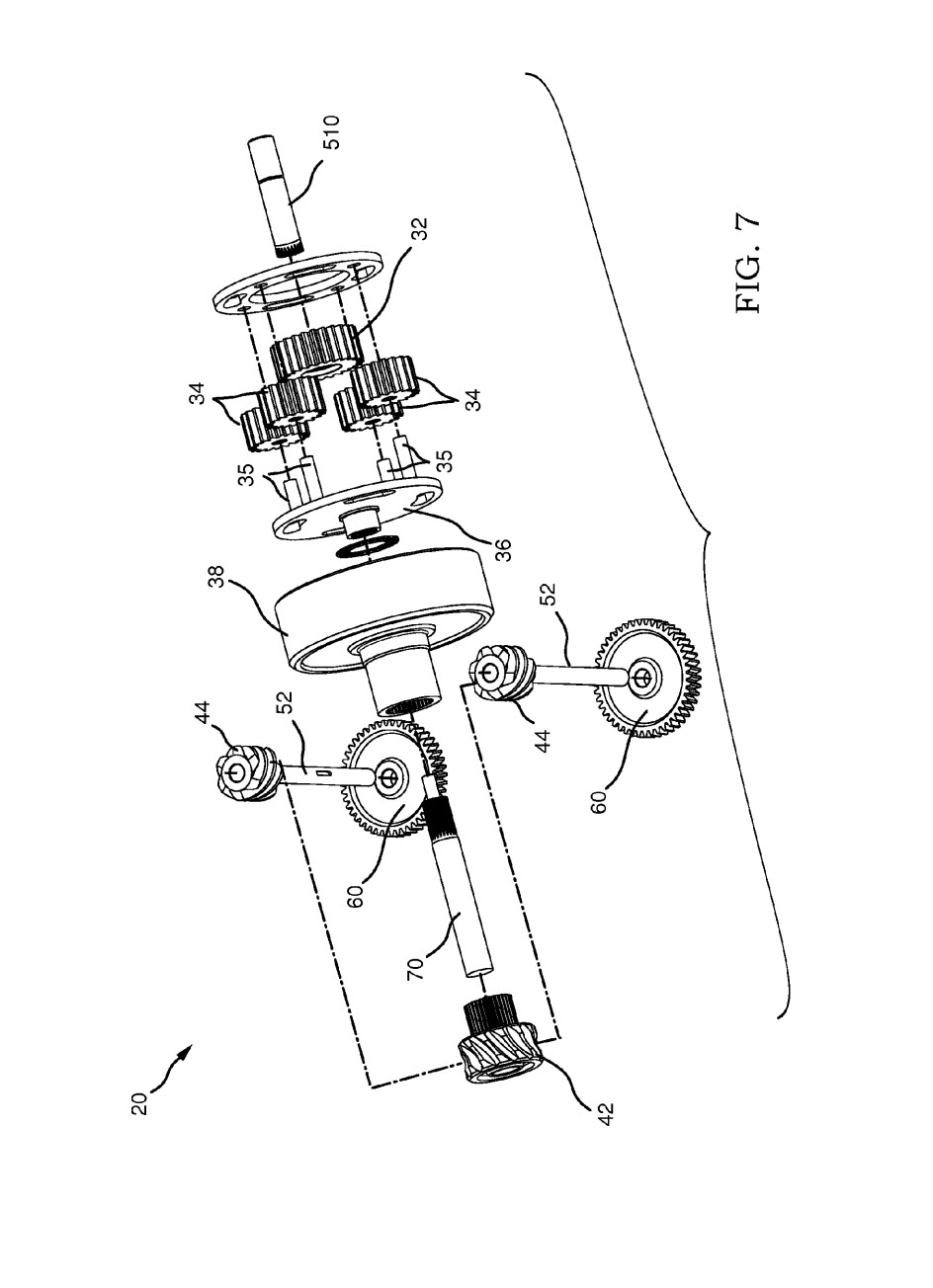 patent drawing exploded view