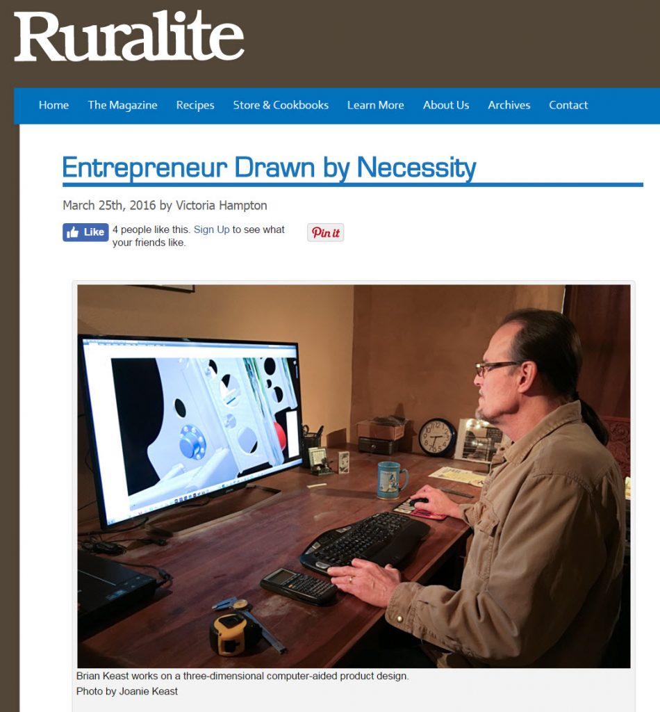 ruralite magazine article photo